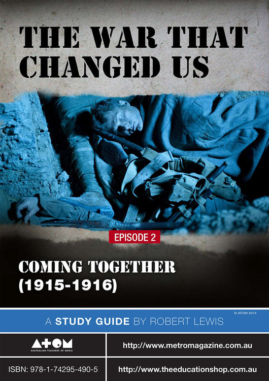 War That Changed Us, The - Episode 2 (ATOM Study Guide)