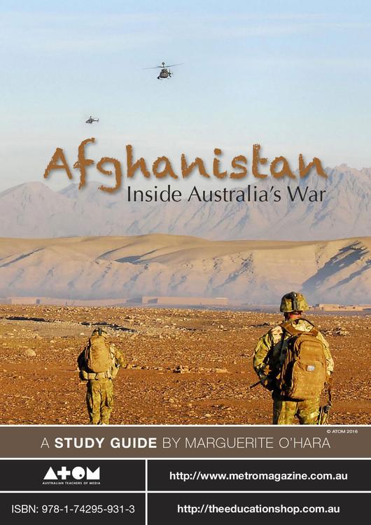 Afghanistan: Inside Australia's War (ATOM Study Guide)