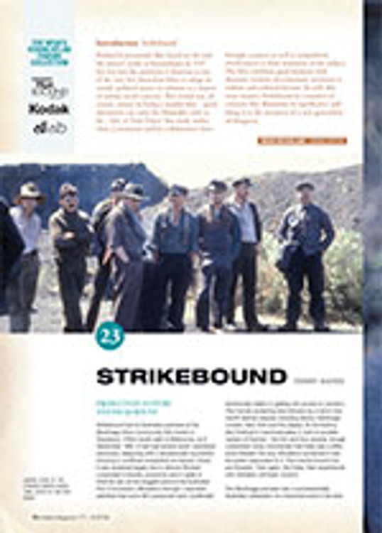 NFSA's Kodak/Atlab Cinema Collection: <em>Strikebound</em>