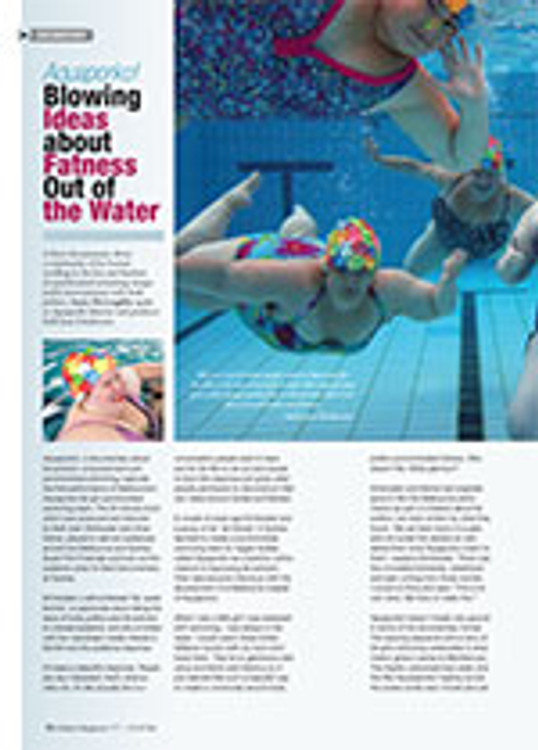 <em>Aquaporko!</em>: Blowing Ideas about Fatness Out of the Water