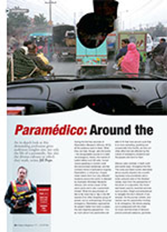 <em>Param?ico</em>: Around the World by Ambulance