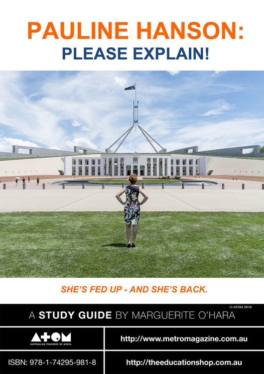 Pauline Hanson: Please Explain! (ATOM Study Guide)
