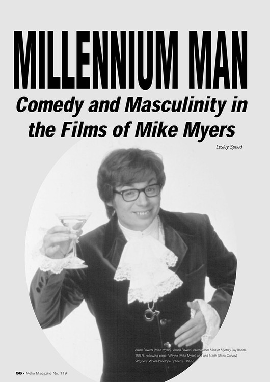 Millennium Man: Comedy and Masculinity in the Films of Mike Myers