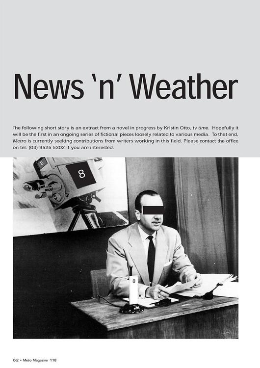 Metro' Short Fiction: News 'n' Weather