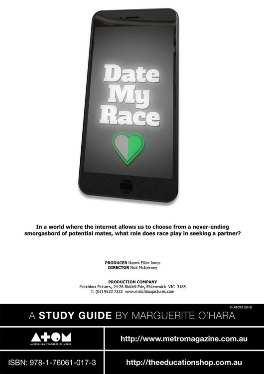 Date My Race (ATOM Study Guide)