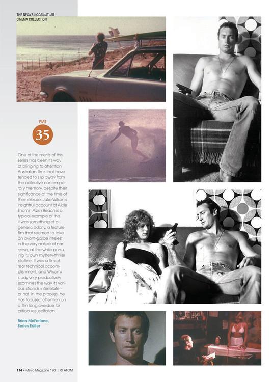 NFSA's Kodak/Atlab Cinema Collection: Palm Beach