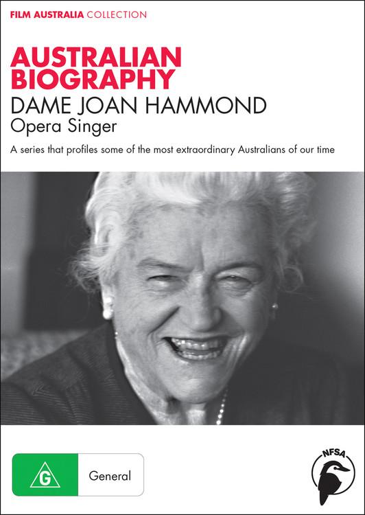 Australian Biography Series - Dame Joan Hammond (1-Year Access)