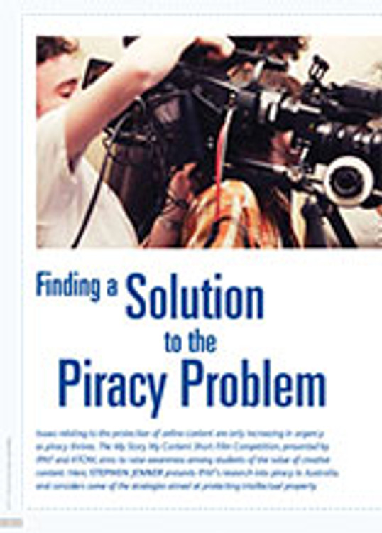 Finding a Solution to the Piracy Problem