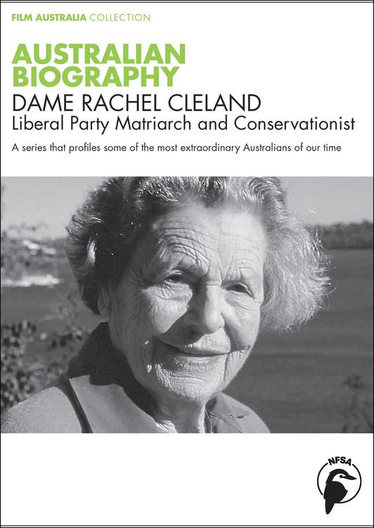 Australian Biography Series - Dame Rachel Cleland (1-Year Access)