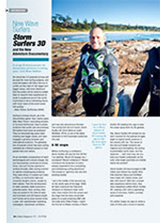 New Wave Surfers: <em>Storm Surfers 3D</em> and the New Adventure Documentary