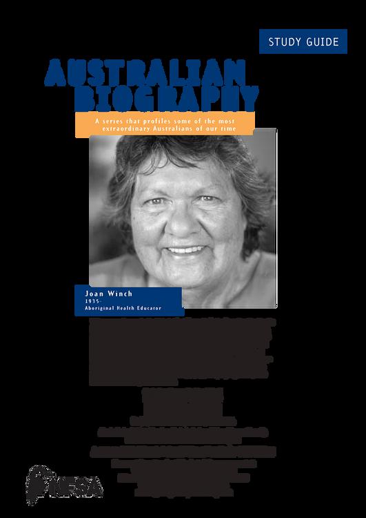 Australian Biography Series - Jill Winch (Study Guide)