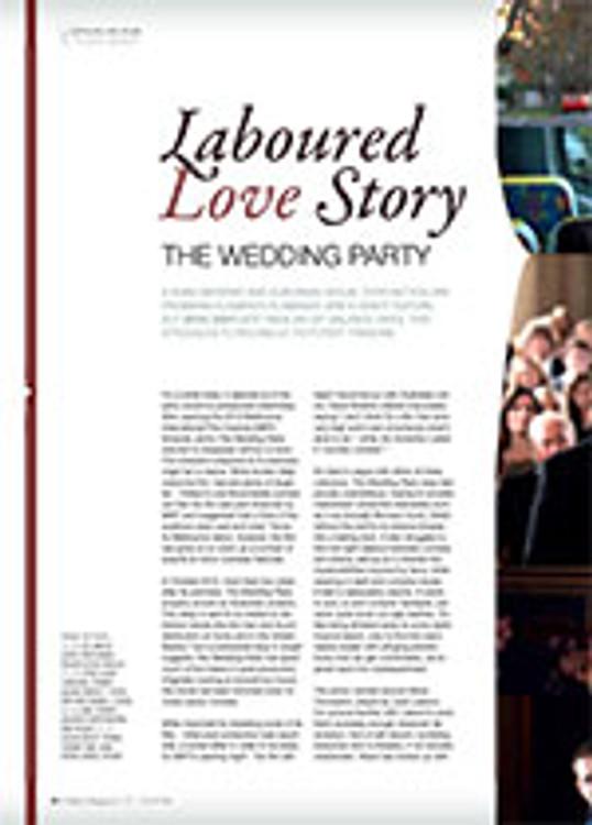Laboured Love Story: <em>The Wedding Party</em>
