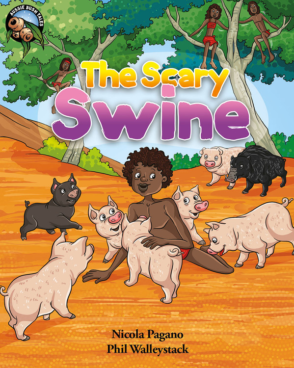 The Scary Swine - Narrated Book (1-Year Rental)