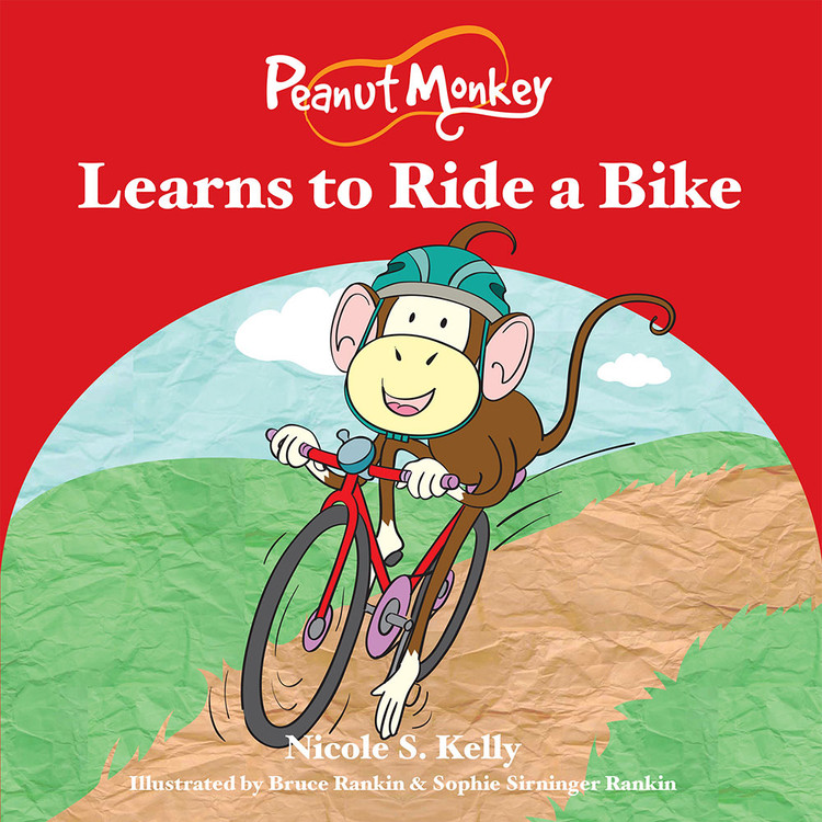 Peanut Monkey Learns to Ride a Bike