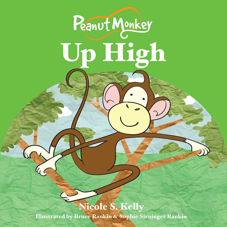 Peanut Monkey Up High (EPUB)