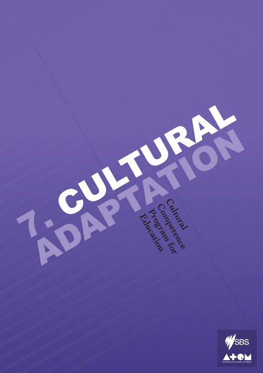 Cultural Competence Program - Module 7: Cultural Adaptation (3-Day Rental)