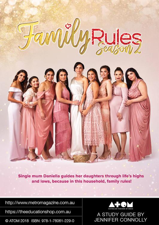 Family Rules - Season 2 (ATOM Study Guide)