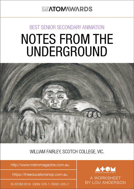 2018 SAE ATOM Award winner: Notes from the Underground (ATOM Worksheets)