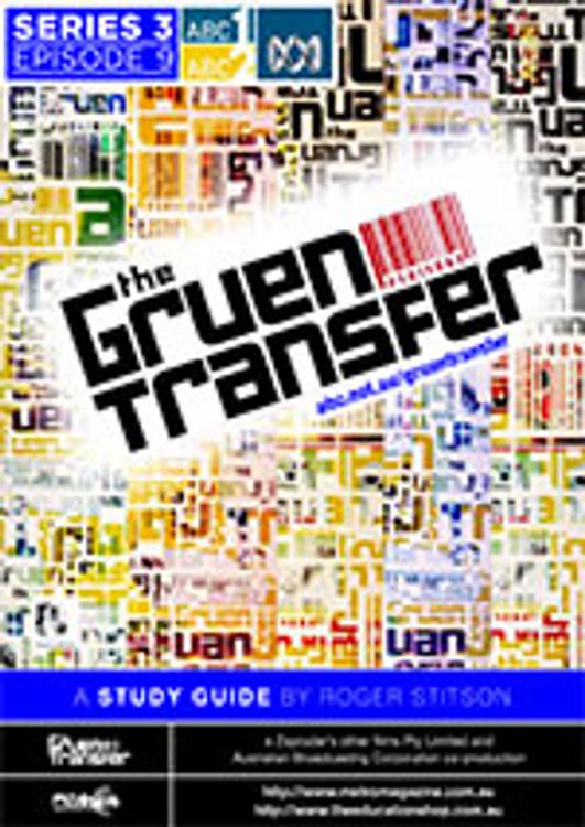 Gruen Transfer, The ?Series 3 Episode 09