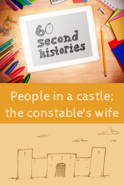 Medieval - People in a Castle: The Constable's Wife (1-Year Rental)