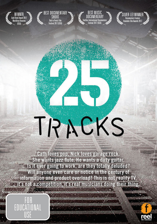 25 Tracks (1-Year Rental)