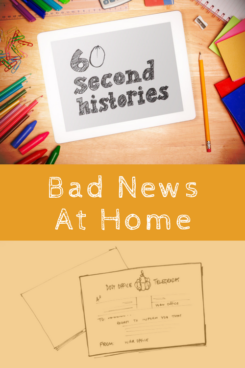 World War 1: Bad News at Home (1-Year Rental)
