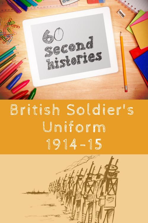 World War 1: British Soldier's Uniform 1914-1915 (1-Year Rental)