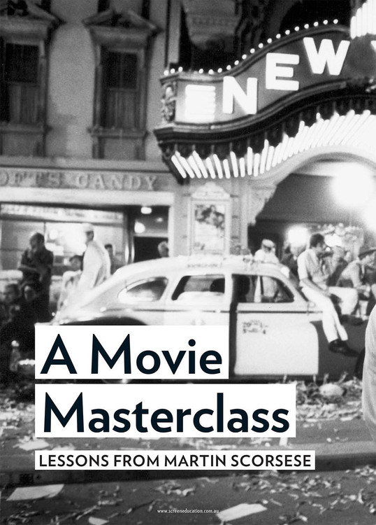 A Movie Masterclass: Lessons from Martin Scorsese