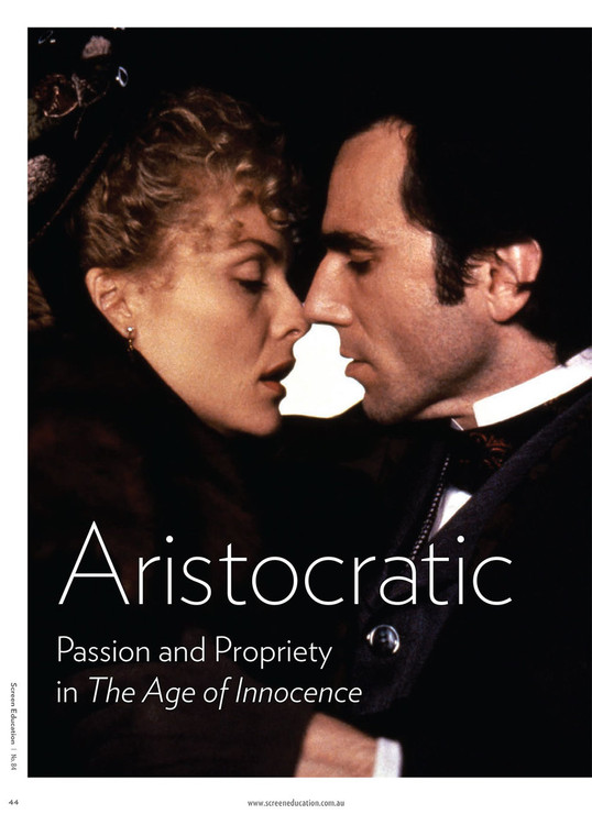 Aristocratic Affectation: Passion and Propriety in 'The Age of Innocence'