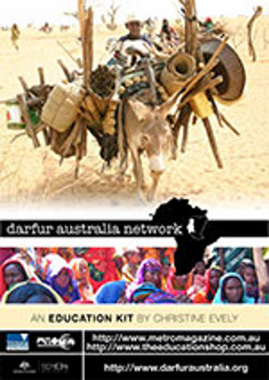 Darfur Australia Network education kit