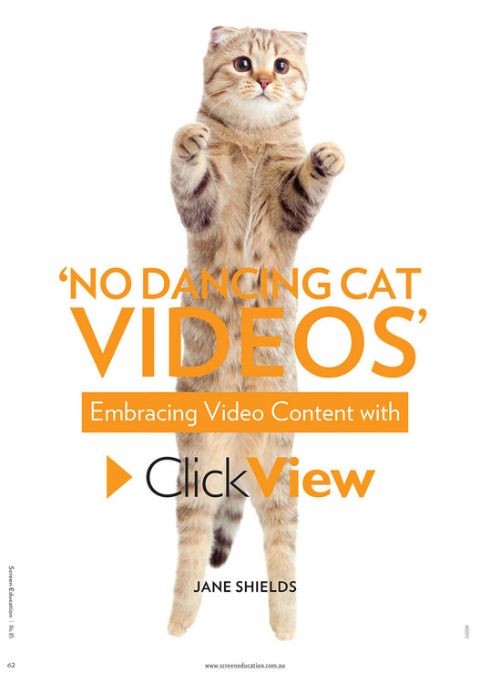 No Dancing Cat Videos': Embracing Video Content with ClickView