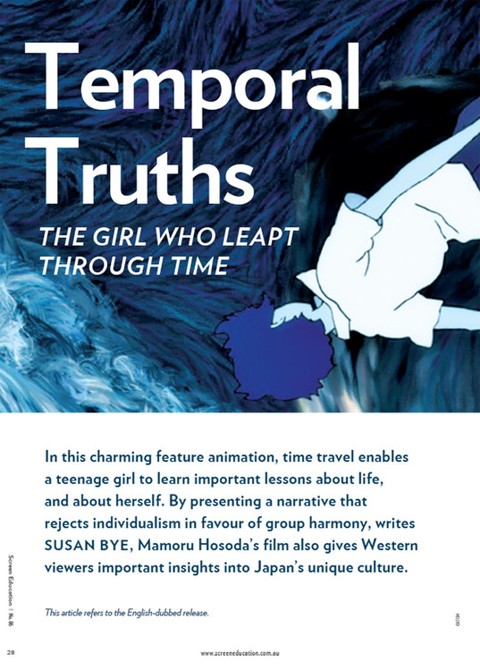 Temporal Truths: 'The Girl Who Leapt Through Time'