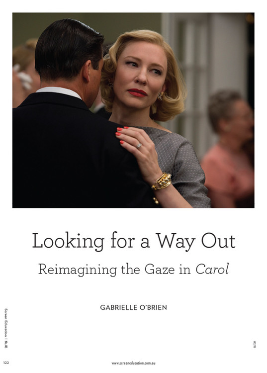 Looking for a Way Out: Reimagining the Gaze in 'Carol'