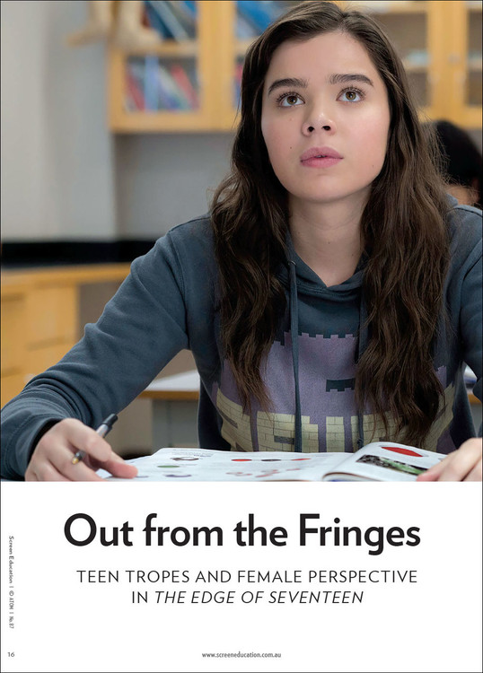 Out from the Fringes: Teen Tropes and Female Perspective in 'The Edge of Seventeen'