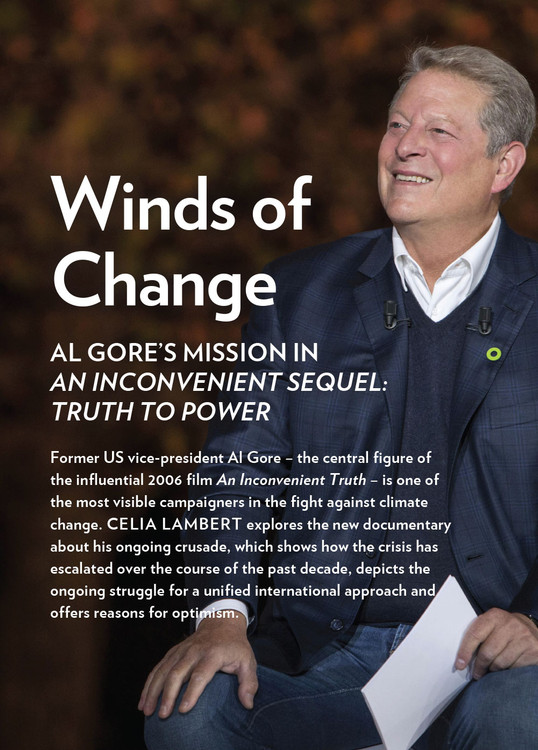 Winds of Change: Al Gore's Mission in 'An Inconvenient Sequel: Truth to Power'