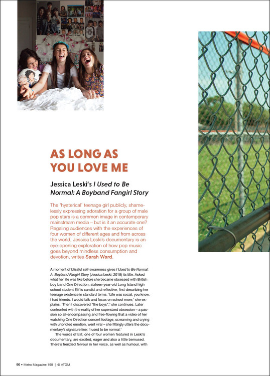 As Long as You Love Me: Jessica Leski's 'I Used to Be Normal: A Boyband Fangirl Story'