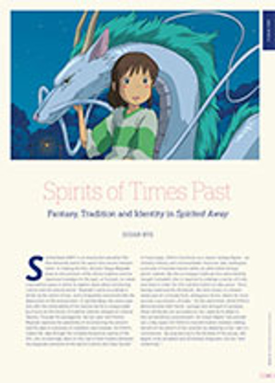 Spirits of Times Past: Fantasy, Tradition and Identity in <i>Spirited Away</i>