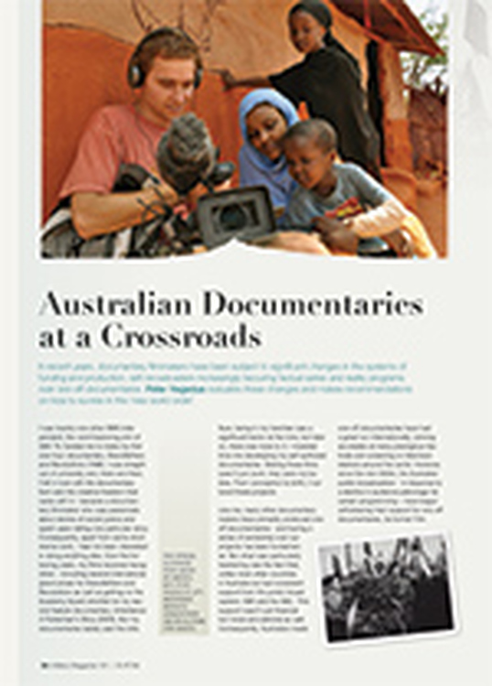 Australian Documentaries at a Crossroads