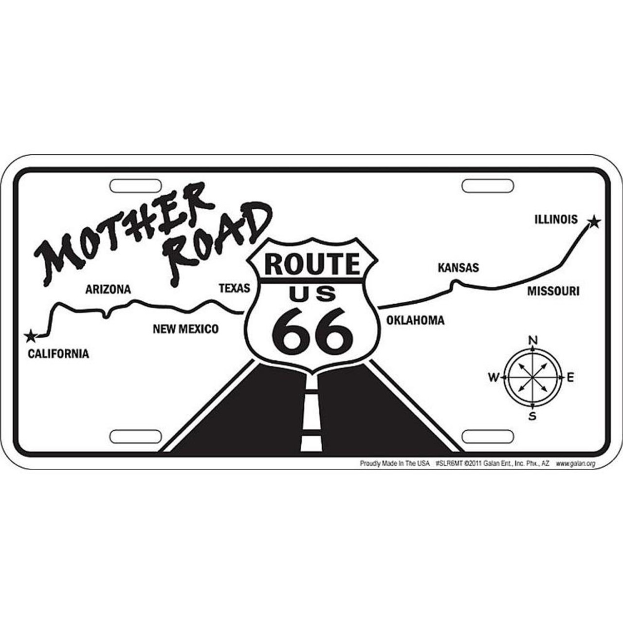 Route 66 Mother Road Map License Plate on las vegas map, greasewood arizona map, golden valley arizona map, durango arizona map, mohave county arizona map, klondyke arizona map, havasu city arizona map, two guns arizona map, skywalk arizona map, las cruces arizona map, route 66 arizona map, wupatki national monument arizona map, phoenix map, mesquite arizona map, reno arizona map, tucson map, humboldt arizona map, boise arizona map, santa fe arizona map, needles california map,