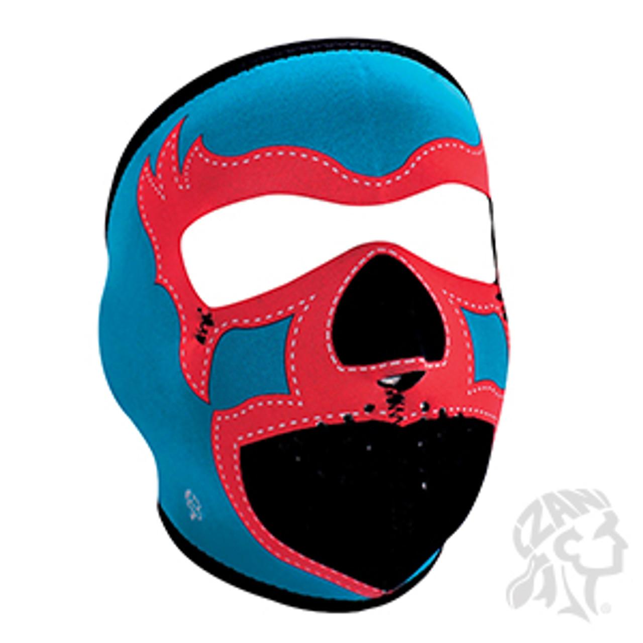 Lucha Libre in Blue Zan Headgear Neoprene Full-Face Mask