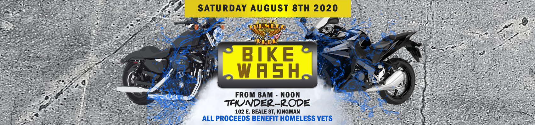 Bike Wash Benefiting Homeless Veterans