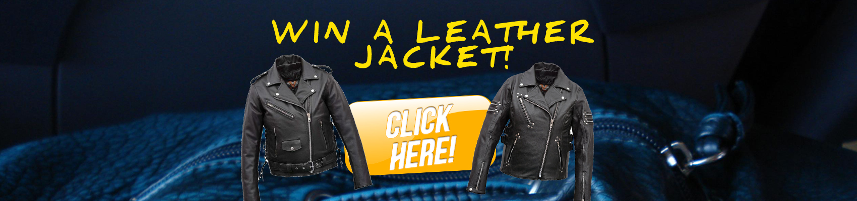Win a Leather Motorcycle Jacket