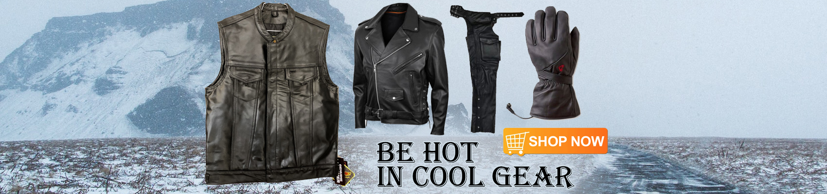 Cold weather motorcycle riding gear for bikers