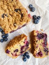 Red White & Blueberry Pound Cake