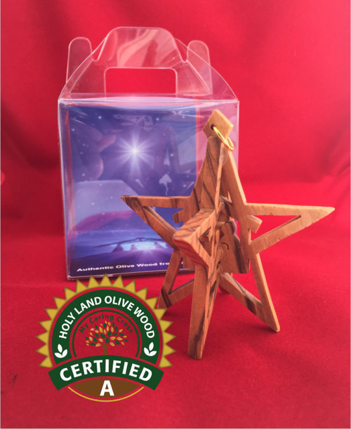 Star Ornament with Display Box