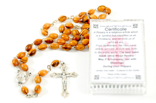 Orthodox Rosary with Soil