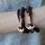 Faith Love Hope - Anchor Bracelet for Men and Women-Durable Wrist Bangle-Unisex Fashion Jewelry (Brown Bronze)