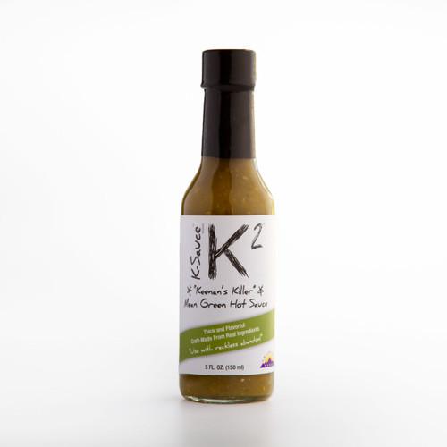 K-2 Mean Green Hot Sauce (5 oz.)