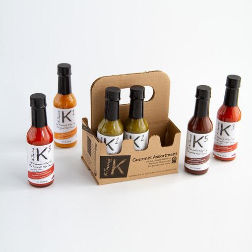 "K-Sauce 6-Pack ""Make Your Own"" (6 ea., 5 oz.)"