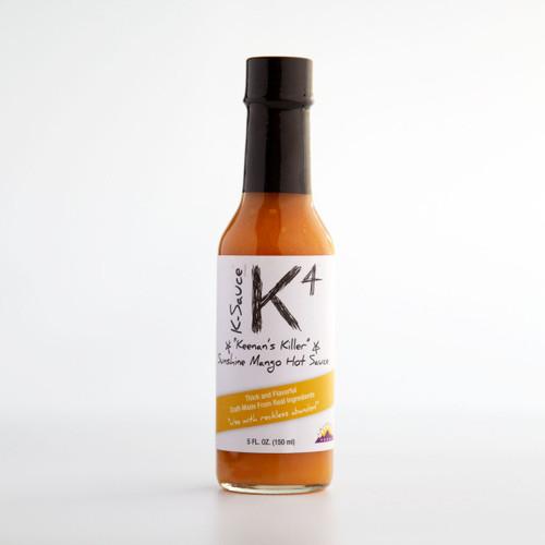 K-4 Sunshine Mango Hot Sauce (5 oz.)